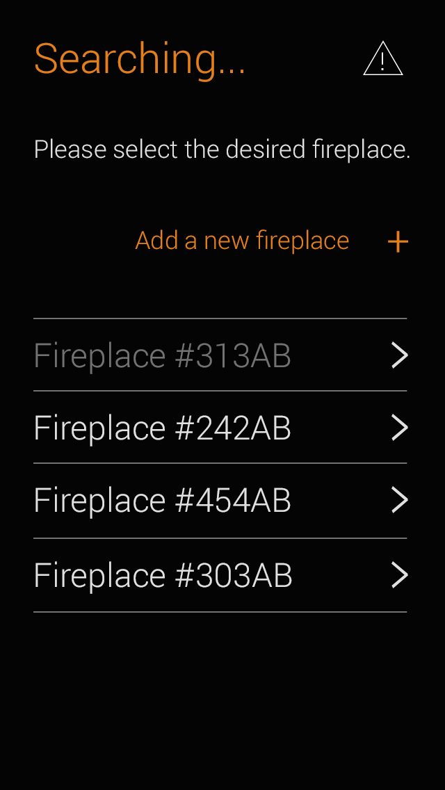 Lumid Firelab searching fireplace