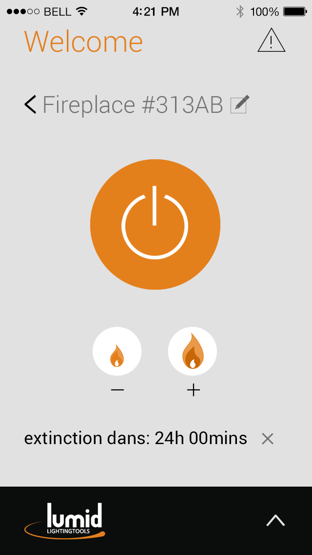 Lumid Firelab main page